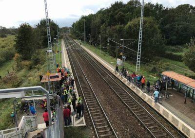 Fahrradsternfahrt Marquardt Bahnhof